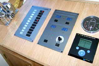 Energy Solutions ESP Panels alongside Victron VE net Blue Power System Control Panel.